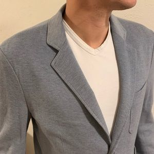 Brooks Brothers Blue Herringbone Men's M Blazer